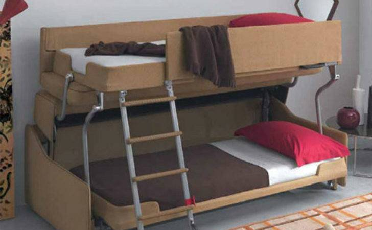Crazy Transforming Sofa Goes Couch Adult Bunk