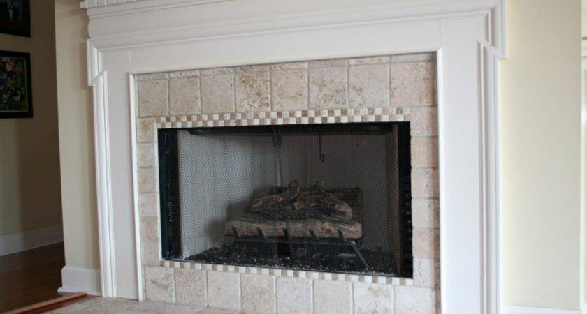 Creamy Marble Fireplace Surround Design