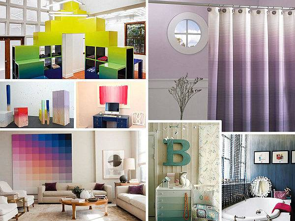 Create Color Gradient Ombre Design
