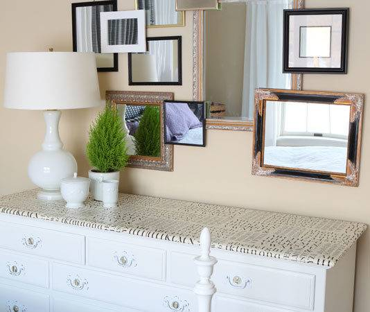 Create Mirror Wall Own Style