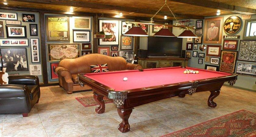 Create Your Own Room Game Pool Table Ideas