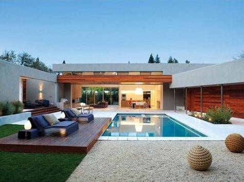Creating Backyard Oasis Sleek Pool Designs