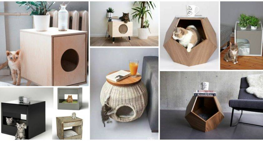Creative Cat Beds Side Tables Simply Adorable