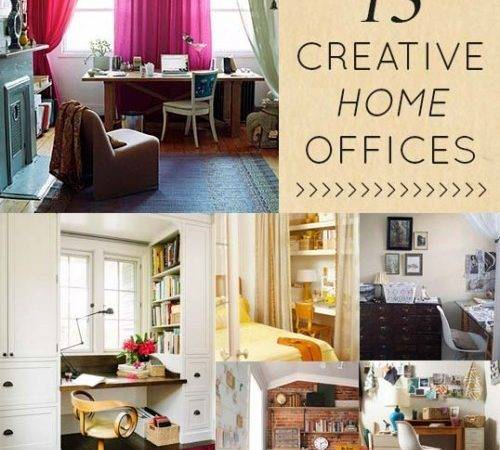 Creative Clever Home Offices Design Sponge