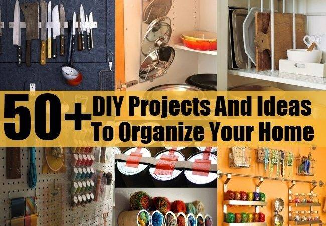 Creative Diy Projects Ideas Organize Your Home