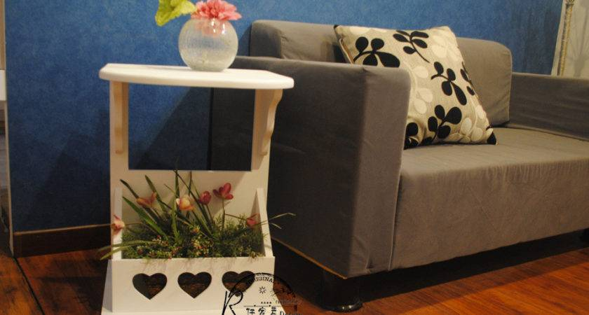 Creative Home Wood Side Tables Solid Coffee Table
