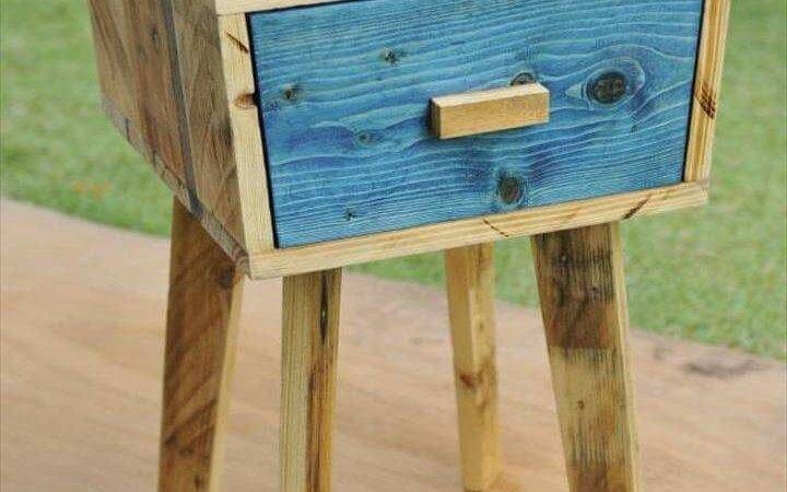 Creative Pallet Side Table Pallets