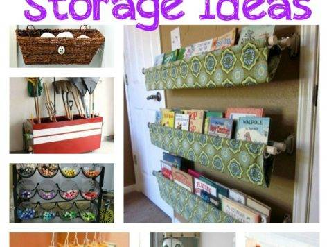 Creative Storage Ideas Your Home Taylor House