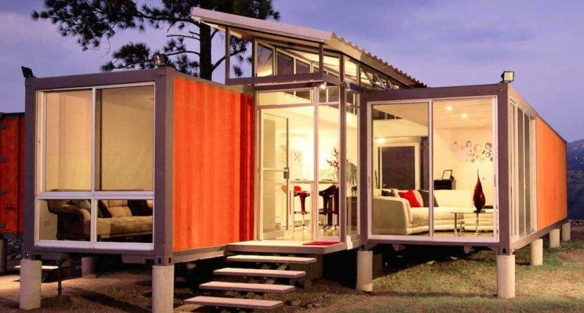 Creative Upcycled Shipping Container Homes Homeli