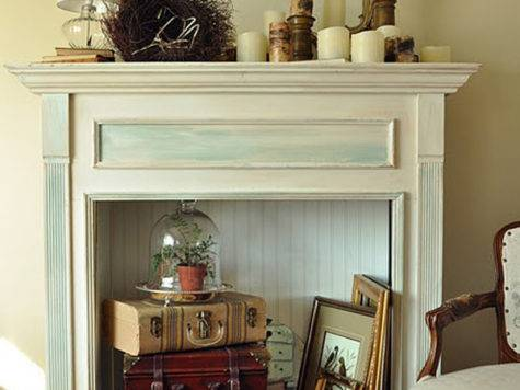 Creative Ways Decorate Your Non Working Fireplace