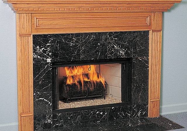 Crestwood Wood Fireplace Mantel Surround