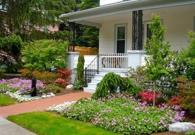 Curb Appeal Modest Yet Gorgeous Front Yards