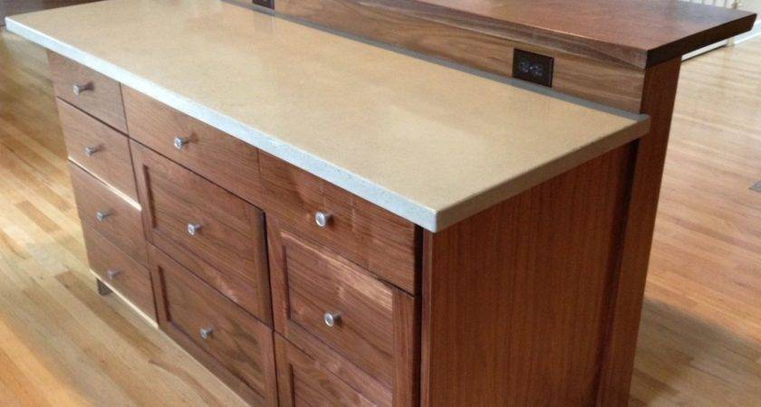 Custom Kitchen Island Slab Bar Top Saw Tooth