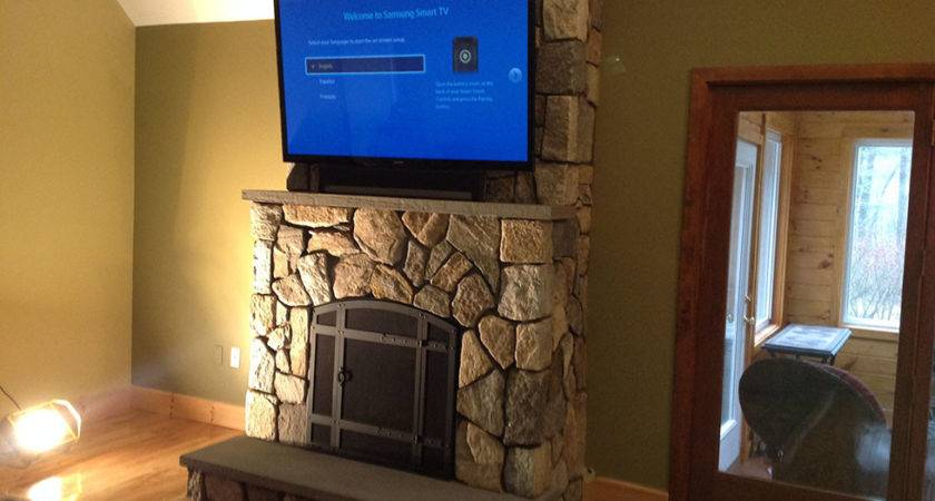 Custom Stone Work Indoor Fireplaces Distinctive