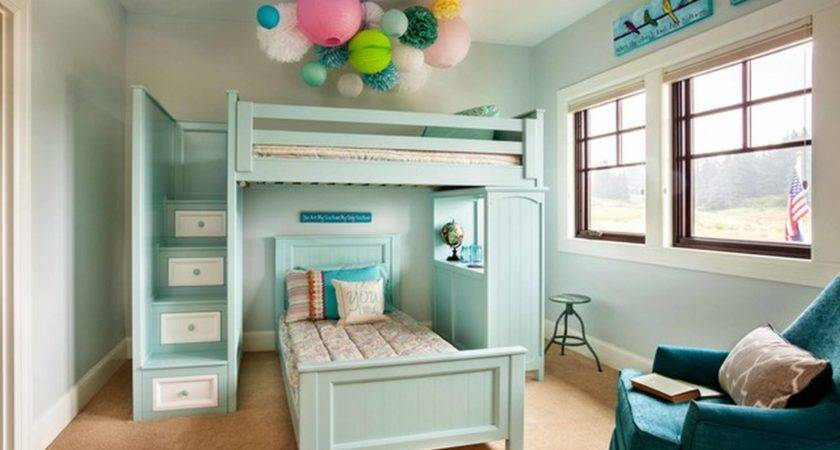 Cute Teenage Girl Bedroom Design Ideas Neutral Shade