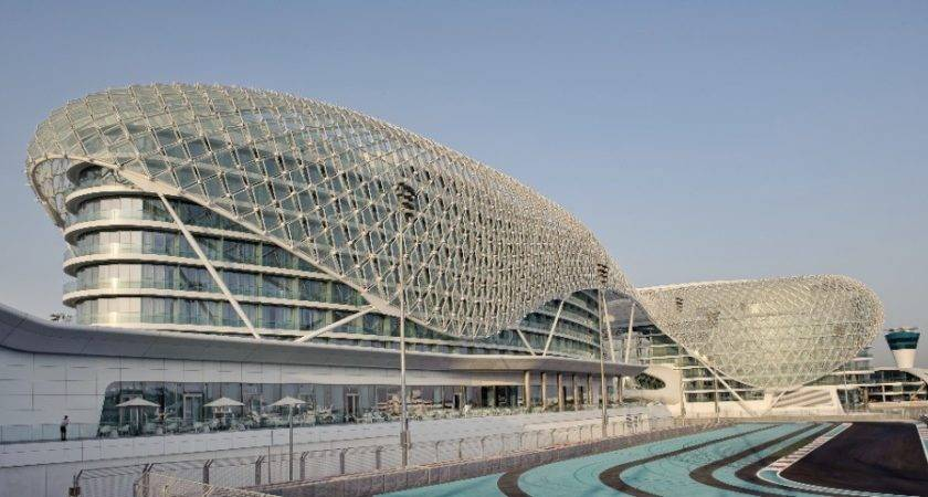 Daily Architecture Yas Hotel Abu Dhabi Asymptote