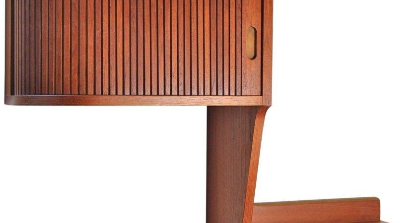 Danish Modern Teak Floating Shelf Stdibs