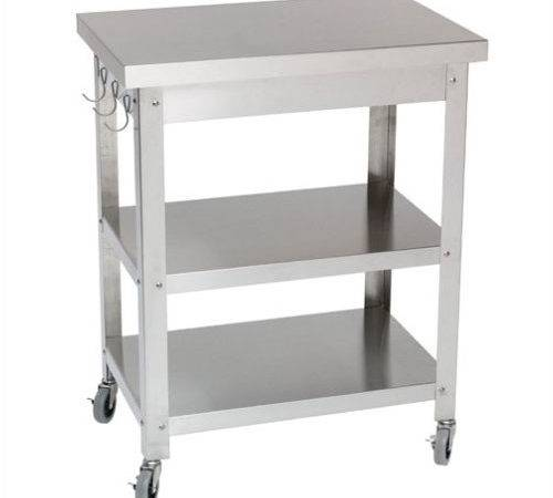 Danver Stainless Steel Kitchen Cart Reviews Wayfair