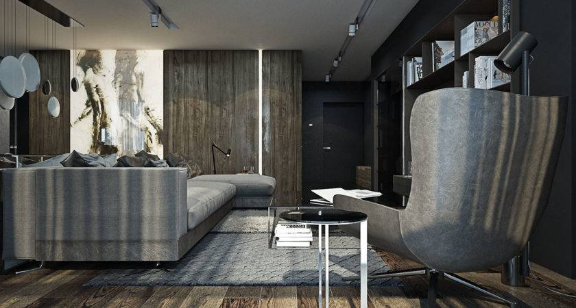 Dark Gray Interior Design Ideas