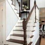Dark Wood Stairs Home Design Ideas Remodel