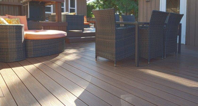 Deck Amusing Synthetic Decking Material