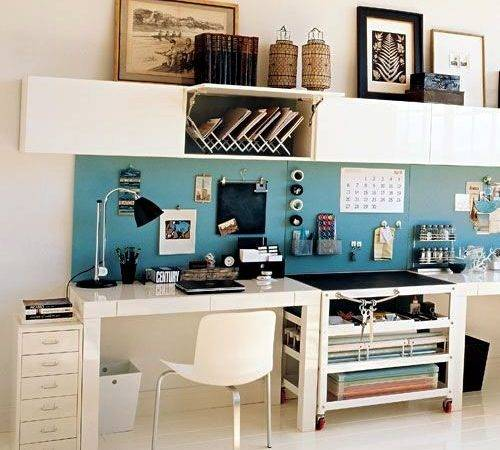 Deco Tips Organizing Home Office Interior Design