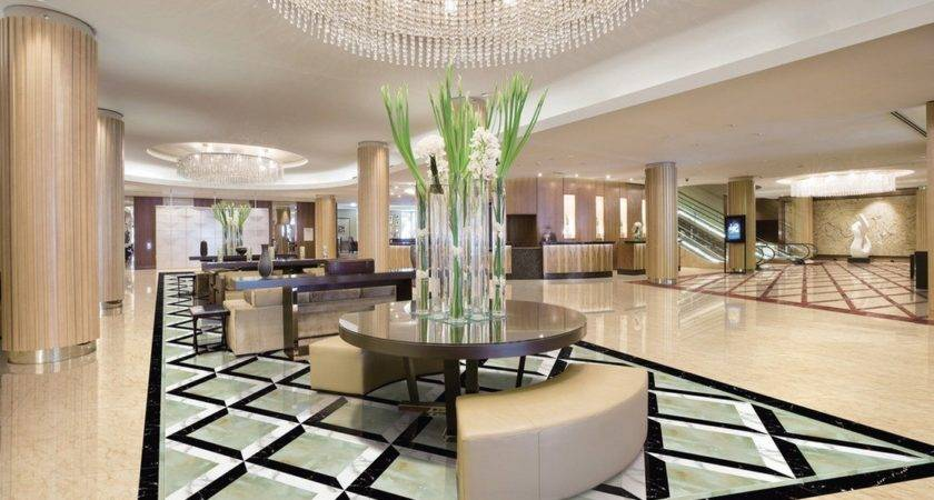 Decor Amazing Hotel Lobby Interior Design Ideas