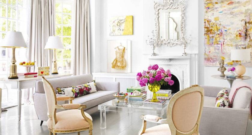 Decor Pink Decorating Ideas Ultra Feminine Virginia