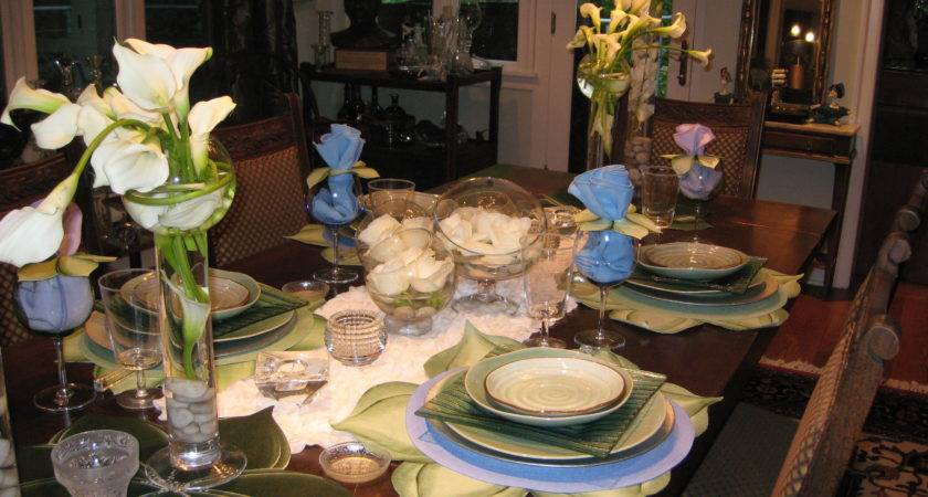 Decorate Dining Table Dinner Room Waplag