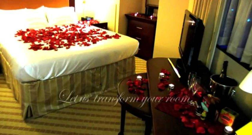 Decorate Romantic Hotel Room Any