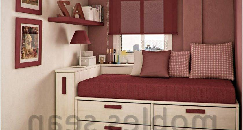Decorate Small Bedroom Girls Charming Home Design