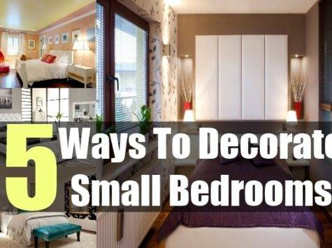 Decorate Small Bedrooms Tips