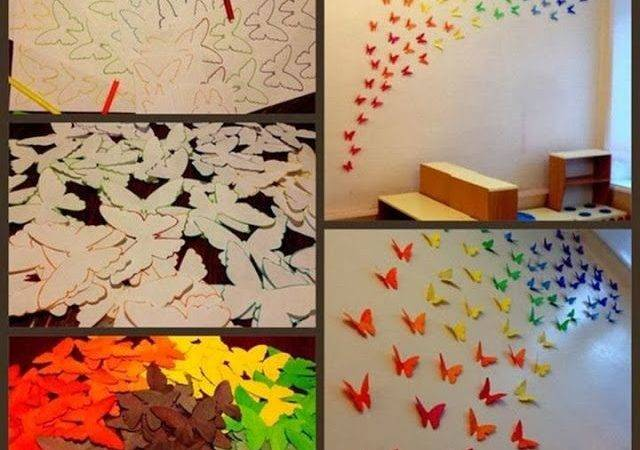 Decorate Your Home Cute Butterfly Wall Cor Decozilla