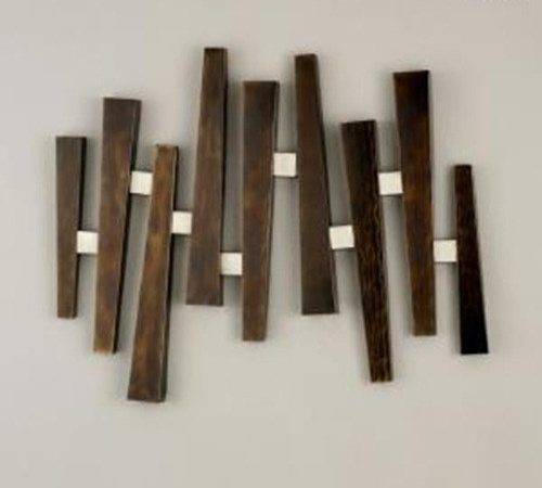 Decorating Home Self Made Wooden Wall Art