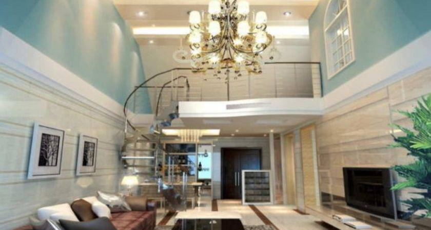 Decorating Ideas Living Rooms High Ceilings