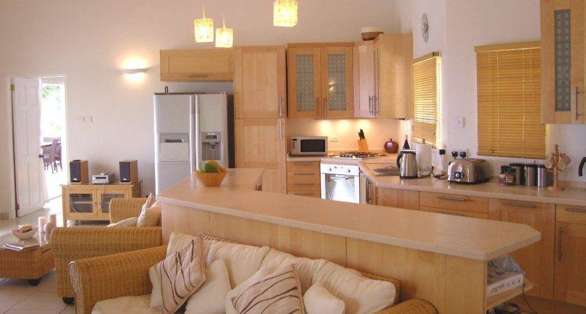 Decorating Living Room Kitchen Combination