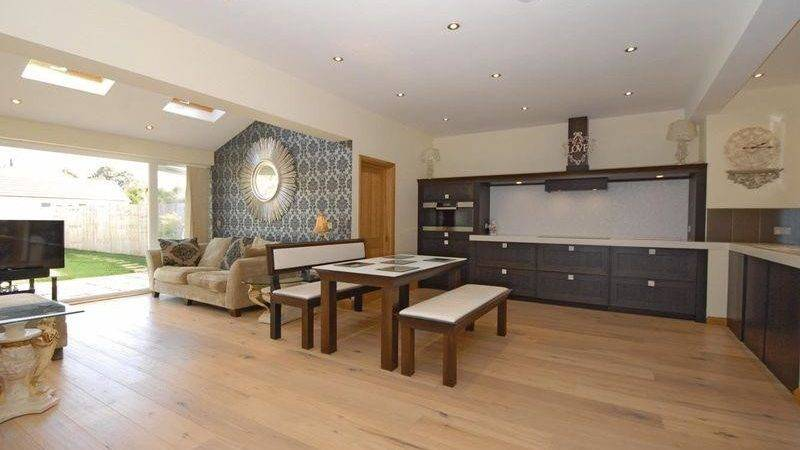 Decorating Open Plan Living Dining Kitchens