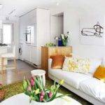 Decorating Small Spaces Blending Colorful Home Accessories