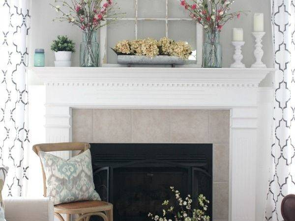 Decorating Your Mantelpiece Spring