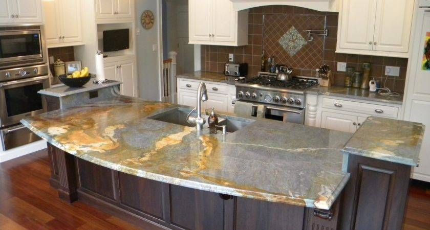 Decoration Cool Different Types Countertops