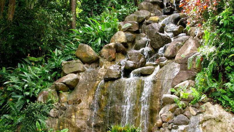 Decoration Decorative Waterfalls Design Landscaping