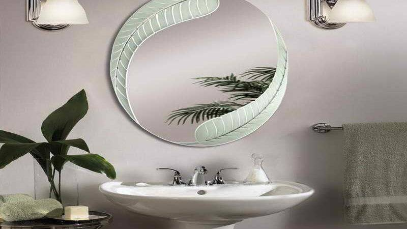 Decoration Magnificent Oval Bathroom Decorating Mirrors