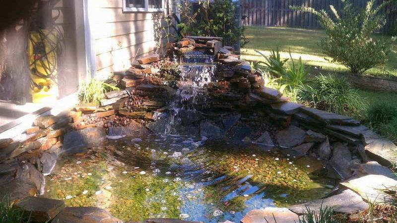 Decoration Pond Decorative Waterfalls Idea