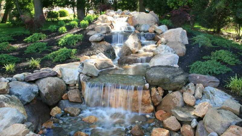 Decoration Pondless Decorative Waterfalls