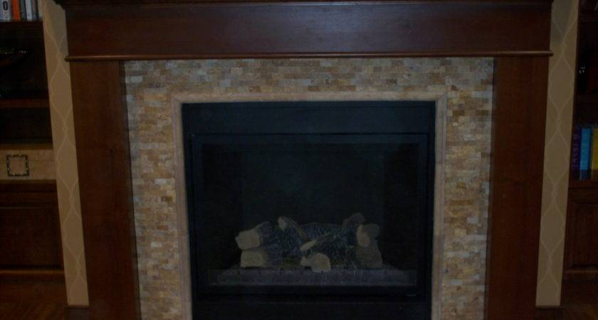 Decorations Fireplace Surrounds Designs Stone Modern