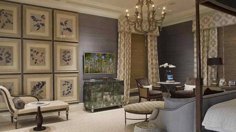 Decorations Transitional Bedroom Decorating Ideas