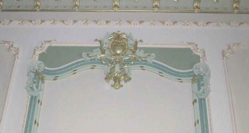 Decorative Plaster Walls Estate Buildings Information