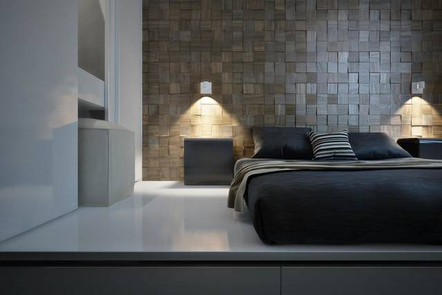 Decorative Wall Panels Modern Bedroom Miami