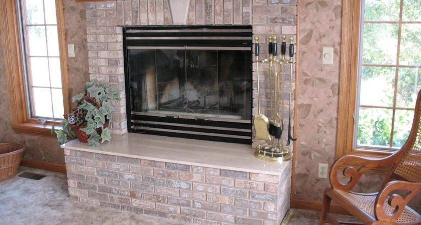 Decorative Wall Stones Fireplace Home Office Interiors