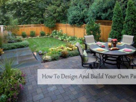 Design Build Your Own Patio